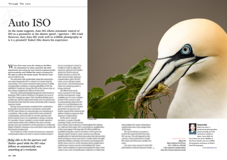 Kaleel Zibe-Through the lens-Auto ISO article-Landscape and Wildlife Magazine Issue 30