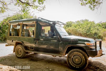 The perfect safari vehicle